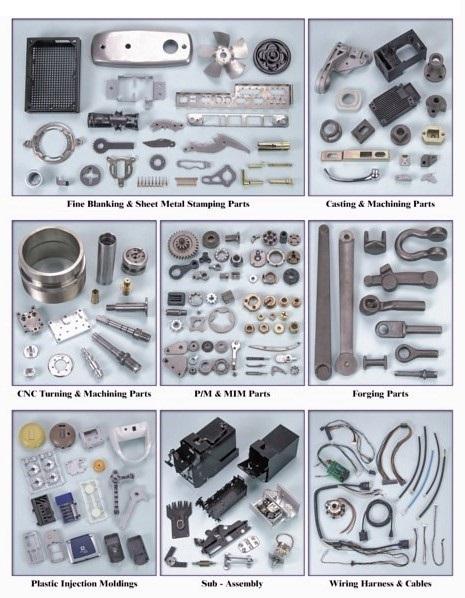 Metal Parts, Metal Components